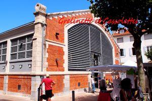 Shopping aux Halles de Biarritz, produits régionaux