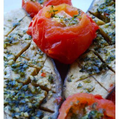 Aubergines & tomates à la provençale COOKÉO