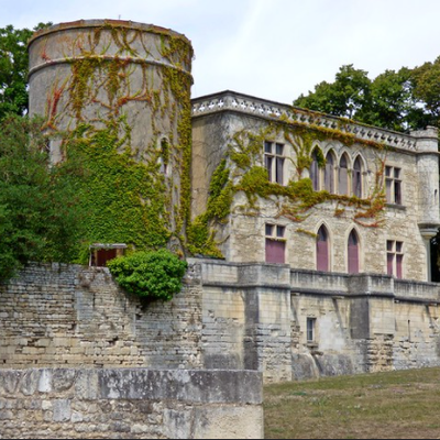 Le château de Maillezais, activé le 15 juin 2021. Référence DFCF 85-049 et WCA F-07094.