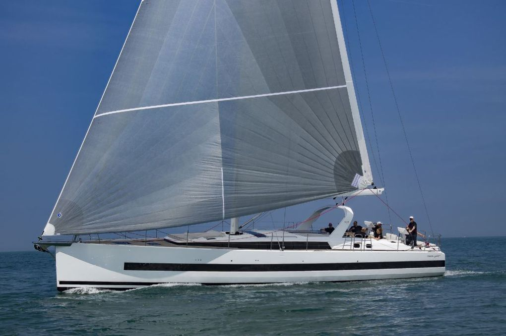 Premières impressions du Bénéteau Océanis Yacht 62 en navigation