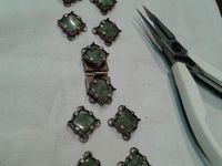 Créatateur de Bijoux à Paris : bracelet en labradorite.