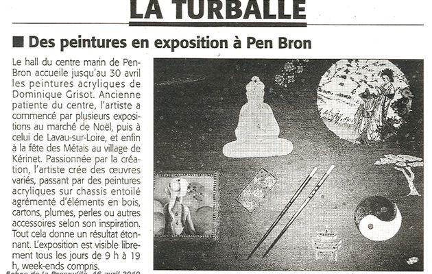 Dominique Grisot expose à Pen Bron