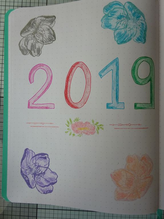 [Bullet Journal] Plan with me 2019