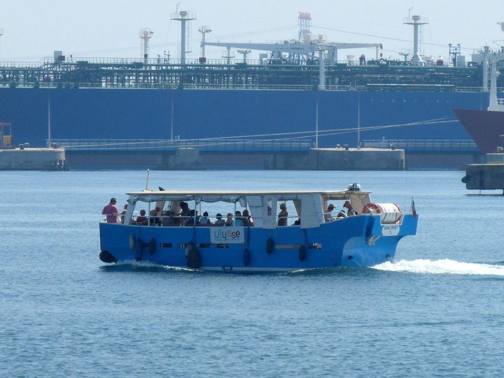 SAN CRIST , vedette pour la visite du Fort de Bouc au départ de Martigues et Port de Bouc le 11 juillet 2016