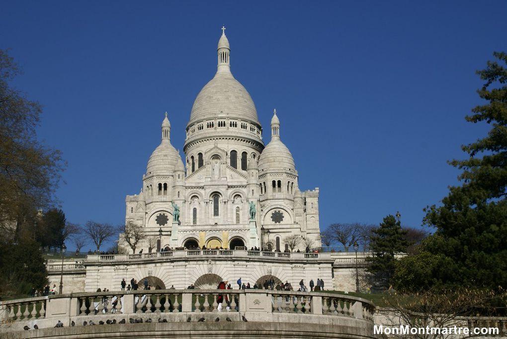 La Basilique du Sacré-Coeur de Montmatre