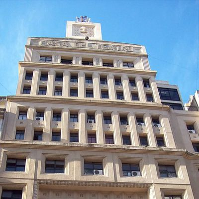 La Casa del Teatro (Quartier de Retiro - Buenos Aires)