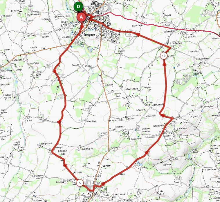 Fête du vélo à Matignon le 26-06-21
