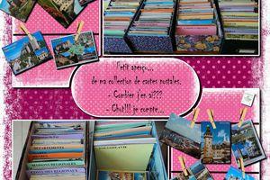 Les cartes postales depuis l'enfance...