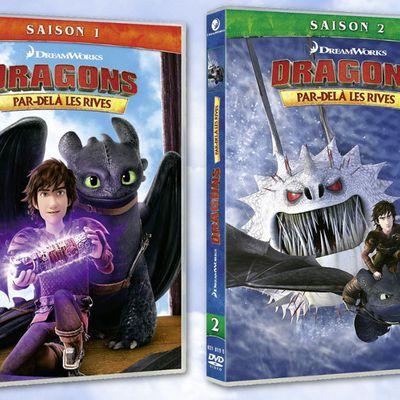 [Série] sortie DVD Dragons : Par delà les rives le 6 février 2019