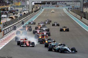 La F1 revoit sa stratégie d'achat d'espaces publicitaires