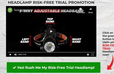 Rugged Outdoor Headlamp - Ultra Bright Tactical Lamp Reviews 2020! Cost