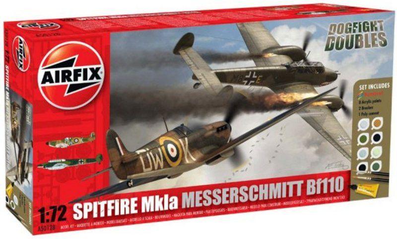 SPITFIRE Mk1a ET SA MAQUETTE [AIRFIX 1.72]