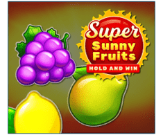 machine a sous Super Sunny Fruits logiciel Playson