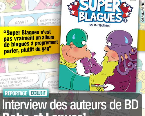 EXCLUSIF / Interview des auteurs de BD Baba et Lapuss'