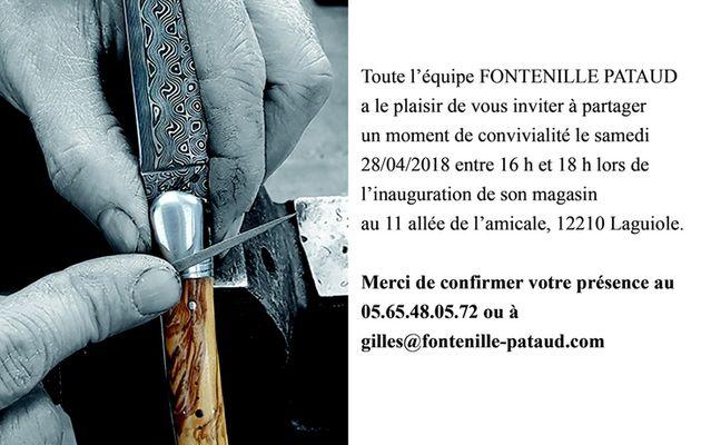 Fontenille Pataud inaugure une boutique à Laguiole