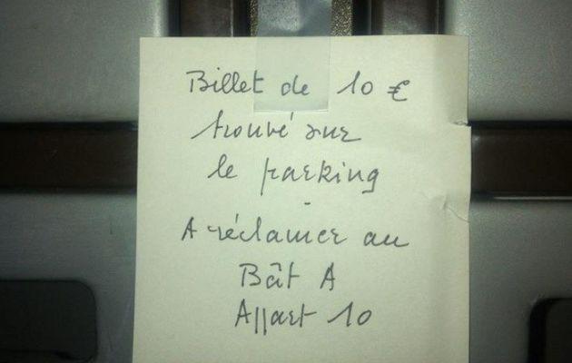 Messages des voisins..