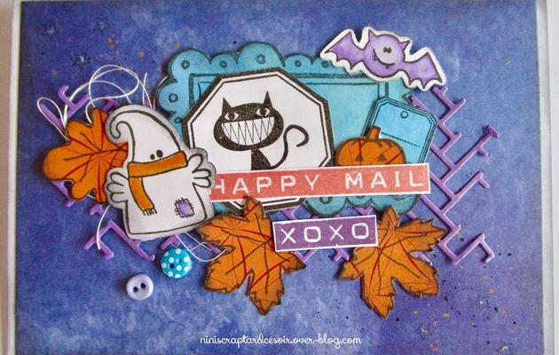 Défi d'octobre chez Scrap&Co et Cardscrap&diy