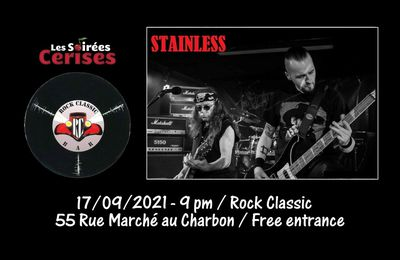 🎵 Stainless (Hard rock / Heavy metal covers band) @ Rock Classic - 17/09/2021