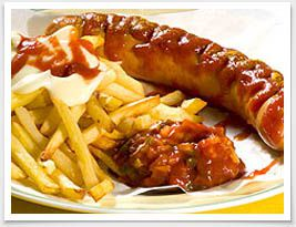 Currywurst ....naaaa kommt der Appetit langsam?