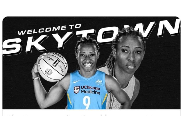 Evelyn Akhator signe au Chicago Sky en WNBA