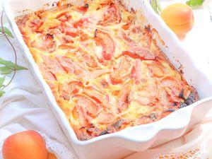 Clafoutis aux abricots @ Les Gourmands {disent} d'Armelle