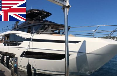 Prestige X70 - first video images before a special broadcast of BoatScopy