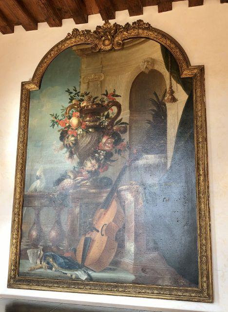 Portraits peinture château Hautefort