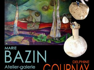 Affiches Expositions Marie Bazin