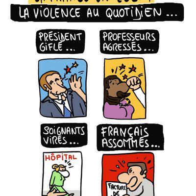"""""""La France en 2021 : la violence au quotidien..."""""""