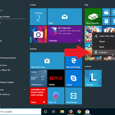 Tips and Tricks to Uninstall an Application on Windows 10