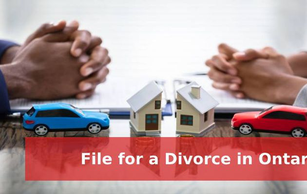 File for a Divorce in Ontario