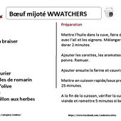 Boeuf mijoté weight watchers au cookeo |