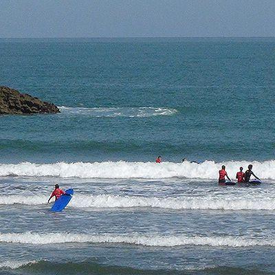 L'info de Biarritz :: Les plages de Biarritz sous le soleil et sous surveillance
