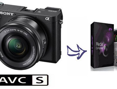 Import and Edit Sony A6300 XAVC S footage in Avid