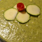 Mousse courgettes chèvre cookeo |