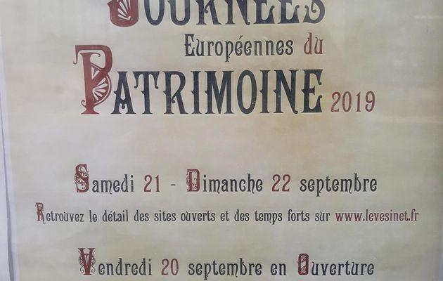 Les journées du Patrimoine s'ouvrent les 21 et 22 septembre 19