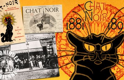 📃 LE CHAT NOIR (1881-1896) UN CABARET, UN JOURNAL (2021)