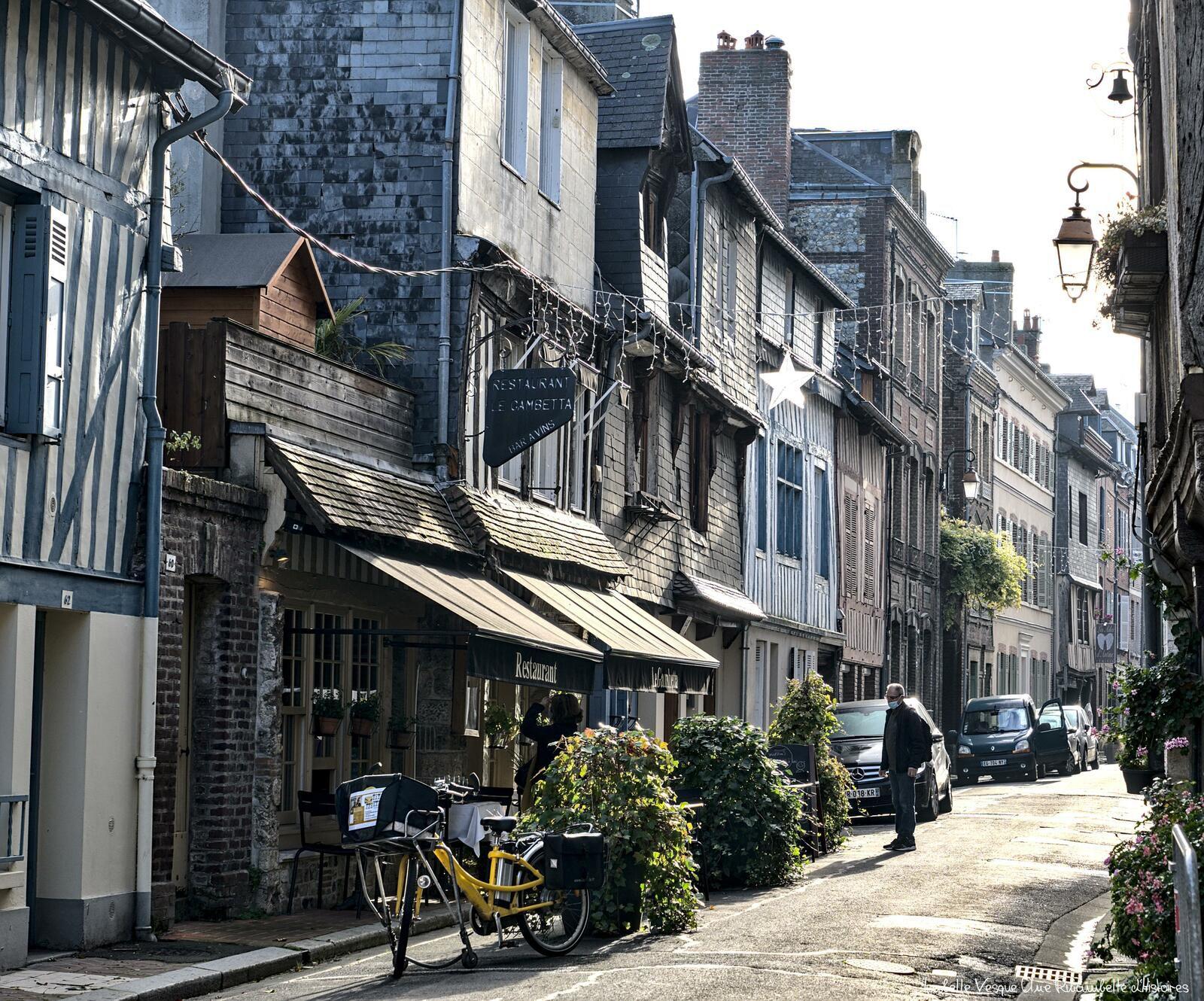 Rue haute, Honfleur, calvados -