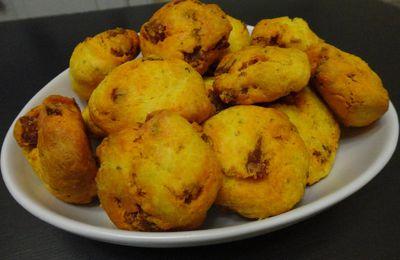 Cookies salés au chorizo extra-fort et au parmesan
