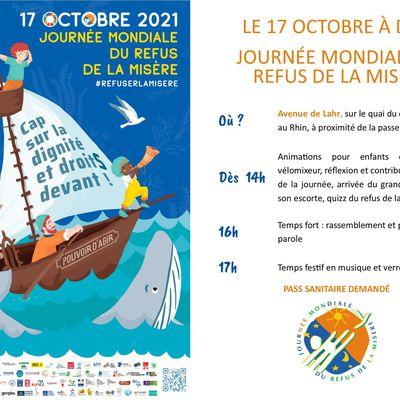 17 octobre : Journée mondiale du refus de la misère