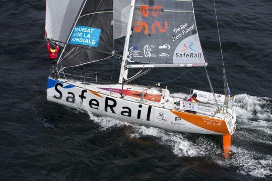 Transat AG2R La Mondiale – Deux démâtages et un abandon, plus que 16 bateaux en course