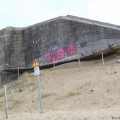 Olonne-sur-Mer Destruction du blockhaus de Grand Pointe
