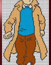 Une nouvelle grille de Tintin !