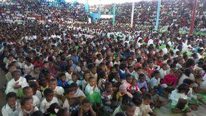 De l'alimentation pour les petits écoliers malgaches