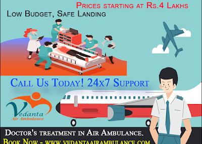 The Air Ambulance Service in Patna Renders the Immediate Solutions for Patient Transfer