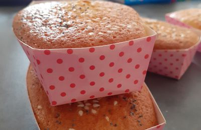 Mini cake au citron