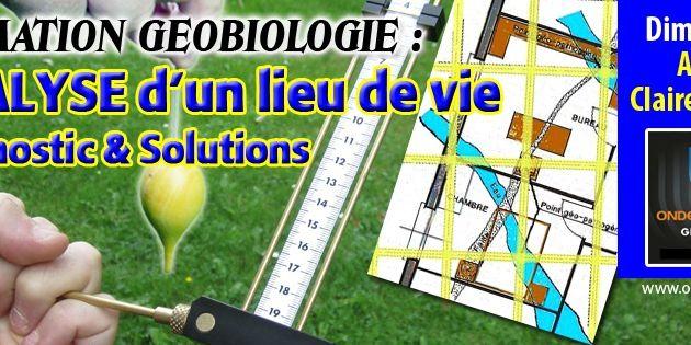 """Formation geobiologie et radiesthesie : """"Analyse d un lieu de Vie, diagnostic et solutions..."""" dimanche 17 mai a Arlon/Clairefontaine"""