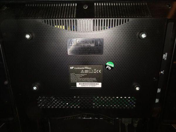 """découverte du téléviseur Continental Edison TV LED 43"""" UHD 4K (CELED434K1018B6) @ Tests et Bons Plans"""