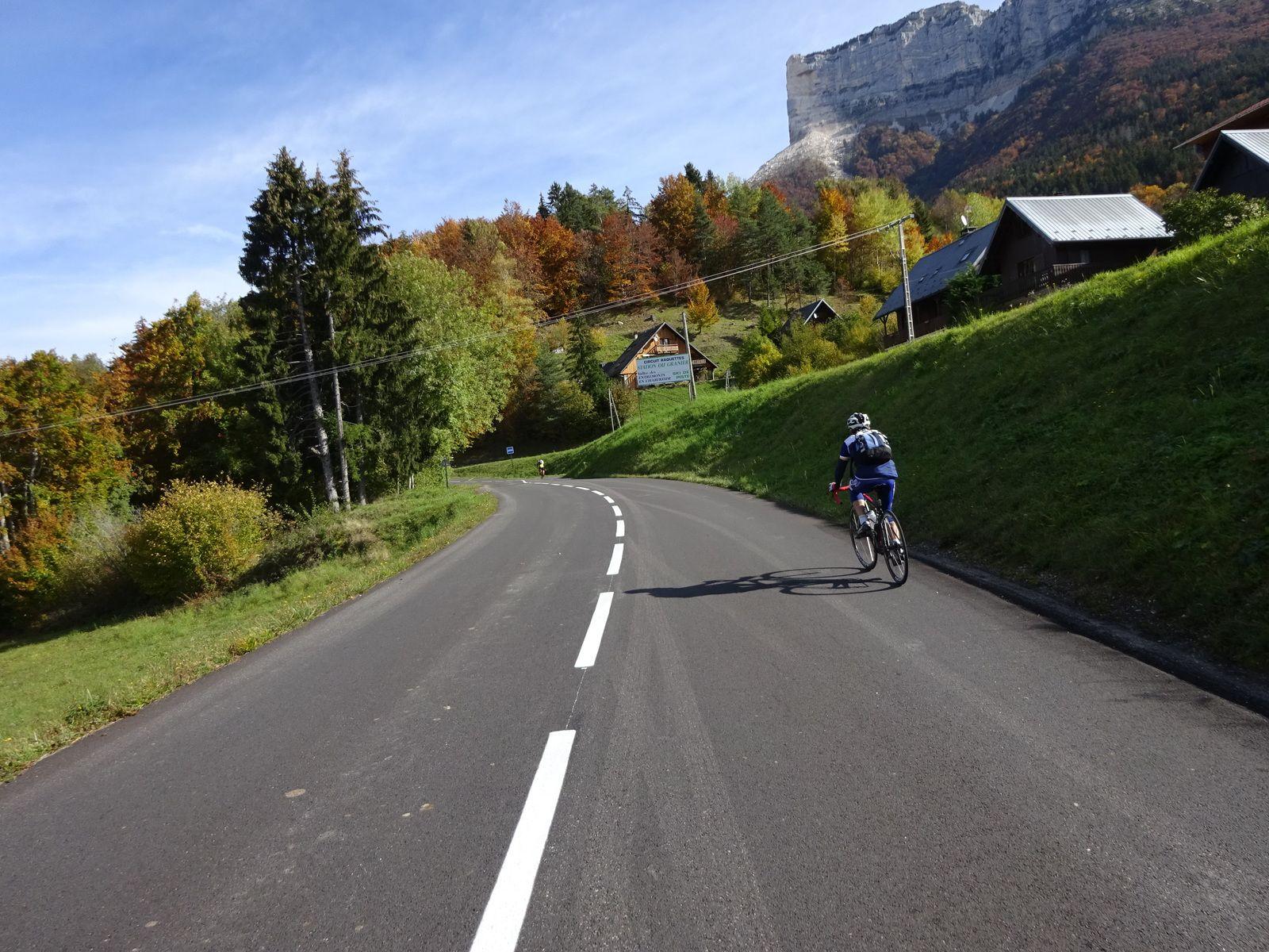 Cols du Granier et de L'Epine (73) -Randonneurs et P2-   Mardi 20 octobre 2020