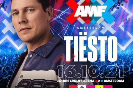 Tiësto date | Amsterdam Music Festival | Amstredam, Netherlands - October 16, 2021